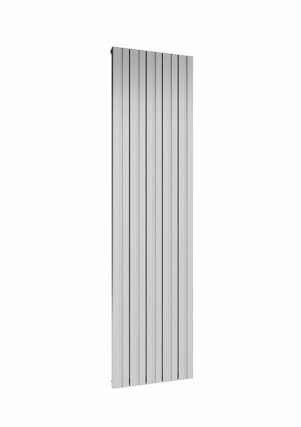 BOVA 1800 x 470 POLISHED SINGLE PANEL VERTICAL ALUMINIUM RADIATOR