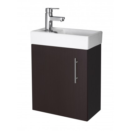 Premier Wall Hung 400mm Cabinet & Basin