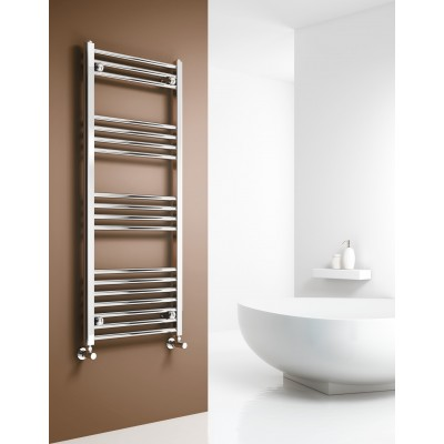 Reina Design CAPO 1600 x 600 CHROME CURVED TOWEL RAIL