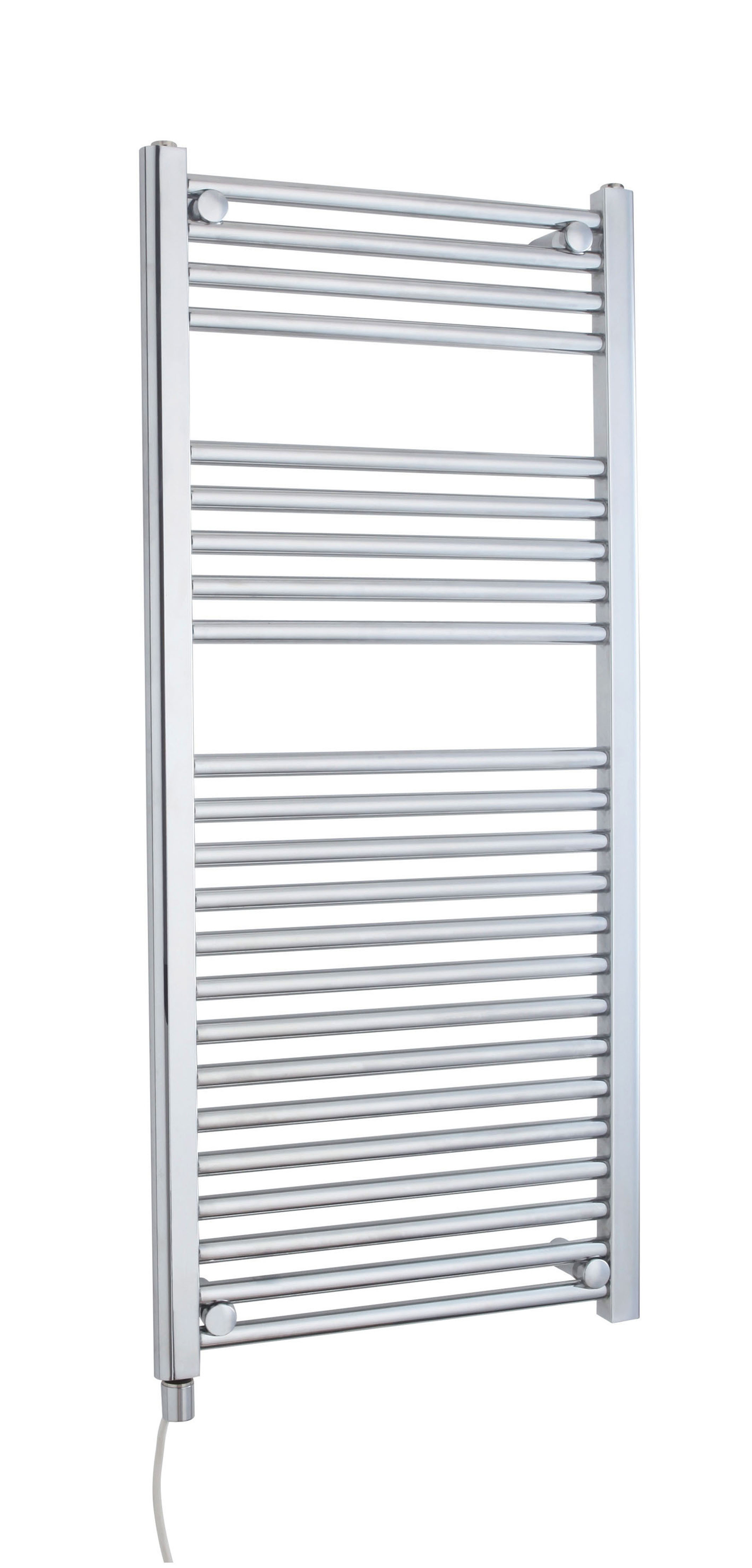 C/P Electric Only Heated Towel Rail 500x1100